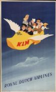 KLM poster - Royal Dutch Airlines [1947]